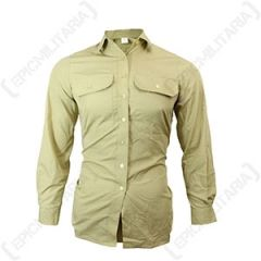 Original Womens Khaki Shirt - Long Sleeve Thumbnail