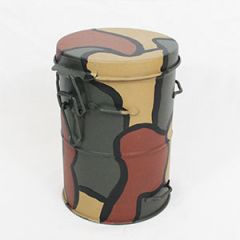 WW1 German Gas Mask Canister in 3 Colour Camo Thumbnail