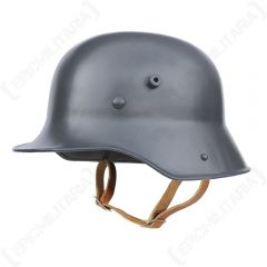 WW1 German M16 Helmet in Field Grey With Liner