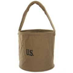 WW2 American Canvas Water Bucket Thumbnail