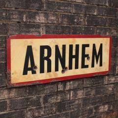 WW2 Arnhem Road Sign - Thumbnail