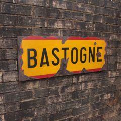 WW2 Bastogne Road Sign - Thumbnail
