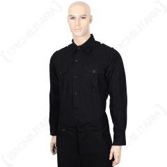 WW2 German Panzer Black Shirt