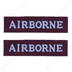 Airborne Shoulder Flashes
