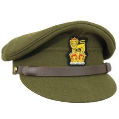 WW2 British Army Visor Cap - Thumbnail