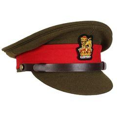 WW2 British Army Visor Cap - General Staff Officer Thumbnail