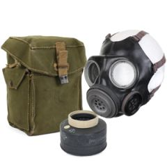 WW2 British Gas Mask and Case Without Strap