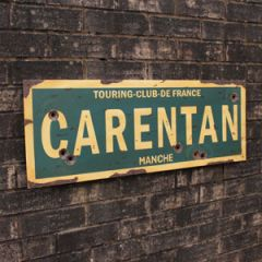 WW2 Carentan Road Sign - Thumbnail