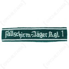Fallschirm-Jager Rgt 1 - Officers Cuff Title - Imperfect