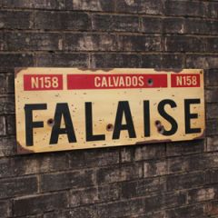 WW2 Falaise Road Sign - Thumbnail