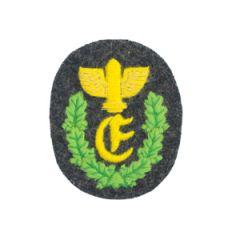 WW2 German Army Anti-Aircraft Range-Taker Badge - Thumbnail