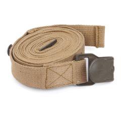 WW2 German Gas Mask Can Strap - Premium - Khaki Thumbnail