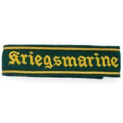 WW2 German Kriegsmarine Cuff Title Thumbnail