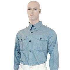 WW2 German Luftwaffe Blue Shirt Front Thumbnail