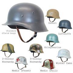 German M42 Helmet Thumbnail