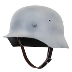 WW2 German M35 Helmet - Winter Camo Main