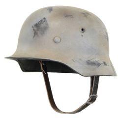 WW2 German M40 Helmet - Battleworn