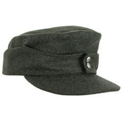 WW2 German M43 Field Grey Officers Cap by Erel