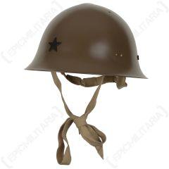 WW2 Japanese Type 92 Helmet - Black Star