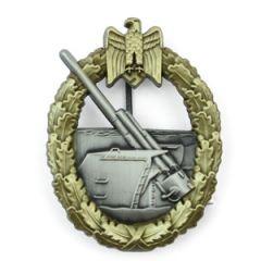 WW2 Kriegsmarine Coastal Artillery Badge Thumbnail