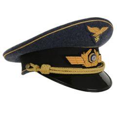 WW2 Luftwaffe Generals Visor Cap Thumbnail