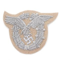 WW2 Luftwaffe Pilot Observer Badge - Tan