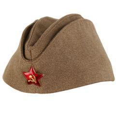 WW2 Russian M35 Pilotka Cap Thumbnail