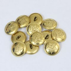 WW2 Russian Red Army Buttons - Thumbnail