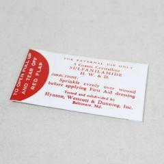 WW2 US Medic Sulfanilamide Packet Thumbnail