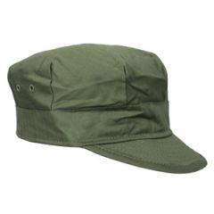 WW2 US M41 HBT Field Cap - Thumbnail