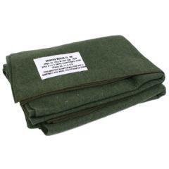 WW2 US Olive Wool Blanket Thumbnail