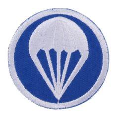 WW2 US Paratroopers Garrison Cap Badge - Blue