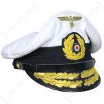 Kriegsmarine U-Boat Admirals Visor Cap