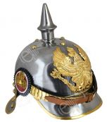 WW1 German/Prussian Cuirassier Pickelhaube - Silver
