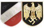 WW2 German Kriegsmarine Pith Helmet Decals