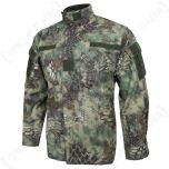 mandra woodland camo acu jacket