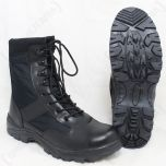 Black Security Full Boots Sole