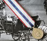 Queens SILVER JUBILEE Medal - Miniature