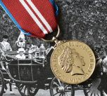 Queens DIAMOND JUBILEE Medal - Full Size