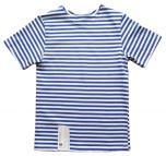 Genuine Russian KIDS Light Blue Short Sleeved Striped T-Shirt