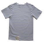 Genuine Russian KIDS Navy Blue Short Sleeved Striped T-Shirt