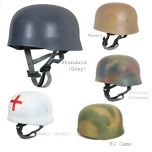 Custom German Fallschirmjager Helmet Thumbnail