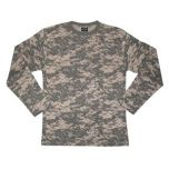 Digital Camo Long Sleeved T-Shirt Thumb