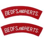 Bedfordshire and Hertfordshire Regiment Thumbnail