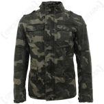Brandit Britannia Jacket - DARK CAMO Thumbnail