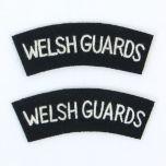British Army Welsh Guards Shoulder Titles