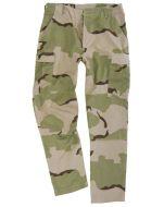 BDU Desert Camo Rip Stop Trousers