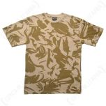 British DPM Desert Camouflage T-Shirt
