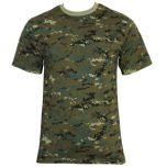 Digital Woodland Camo T-Shirt Thumbnail