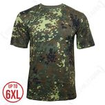 German Army Flecktarn Camouflage T-shirt thumbnail